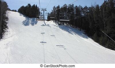 Winter Sport 1 - Winter sport snowboarding.