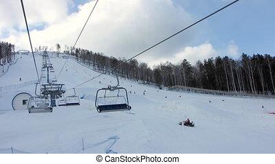 Winter Sport 2 - Winter sport snowboarding.