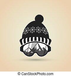 Winter sport design, vector illustration