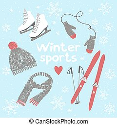 Winter sports and activities