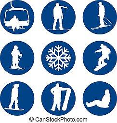 Winter sports designs