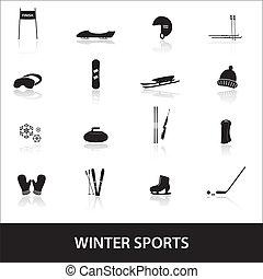 winter sports eps10
