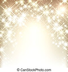 Winter starry christmas background. - Shiny starry christmas...