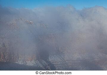 Winter Storm at Grand Canyon