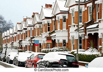 Winter Street in London.