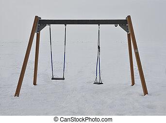 winter swings in