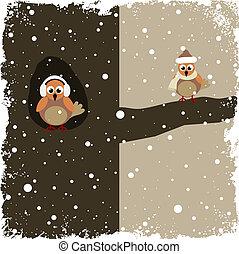 winter, thema