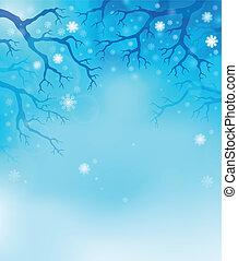 Winter theme background 1