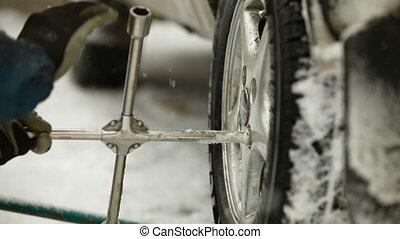 winter tire repair