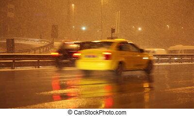winter traffic 3