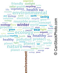 Winter Tree Ecology Word Cloud