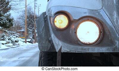 Winter truck.