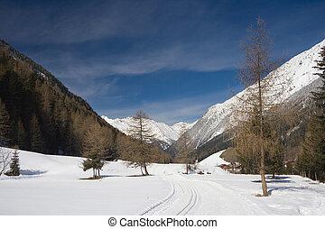 Winter Valley, Austria
