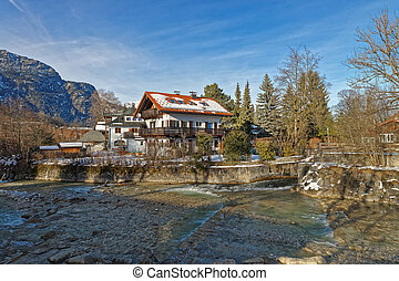 Winter view of a wonderful landscapes of Garmisch-Partenkirchen