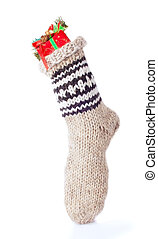 Winter Warm Sock with Christmas  Gift
