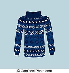 Winter Warm Sweater Handmade, Svitshot, Jumper