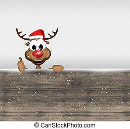 winter, weihnachten, hintergrund