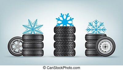 winter wheels set