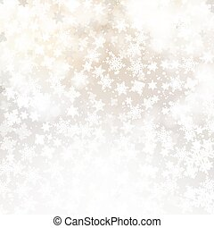 Winter white background christmas made of snowflakes and snow with blank copy space for your text
