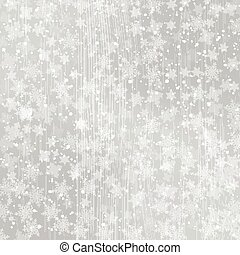 Winter white wood background christmas made of snowflakes and snow with blank copy space for your text