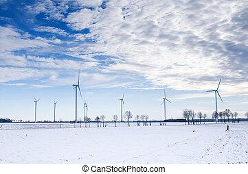 winter windmill park