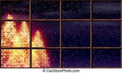 Winter Window Loop