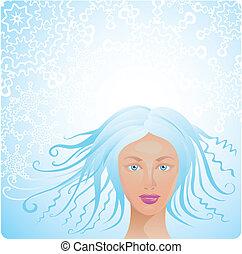 Winter woman