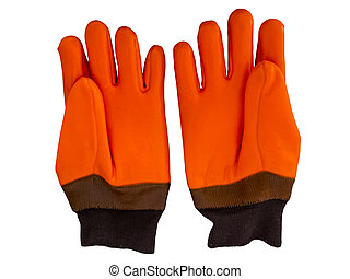 Winter work gloves - Pair of winter warm and waterproof work...