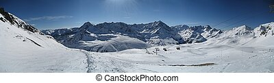 Winterpanorama Tirol