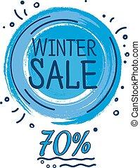 Wintersale  banner discount.