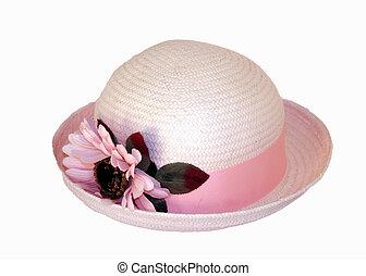 wiosna, kapelusz
