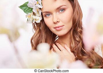 wiosna, portret