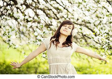 wiosna, powietrze