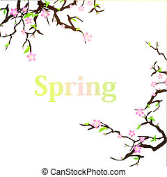 wiosna, tło