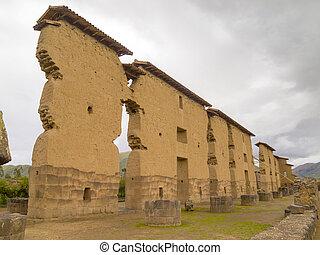 Wiracocha Temple, Cusco, Peru. - Ruins of the Wiracocha...