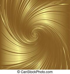 wirbel, gold