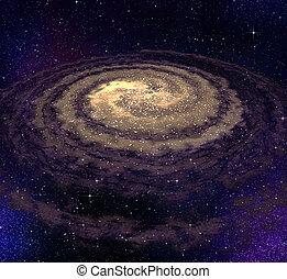 wirbeln, galaxie