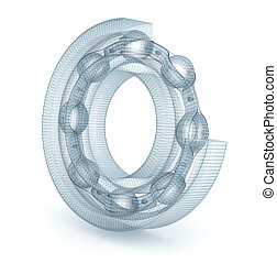 Wire bearing design