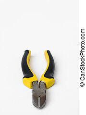 Wire cutters - Wire cutter with yellow and black handle ...