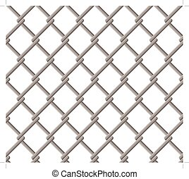 wire fence seamless pattern