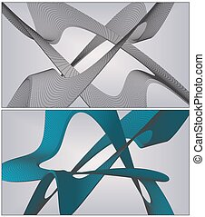 Wire Frame Surface Background... - Wire Frame Surface...