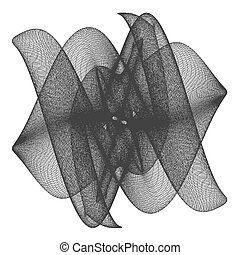Wire Frame Surface Vector 102...