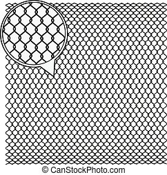 Wire Mesh background. - Steel Wire Texture - Octagon ...