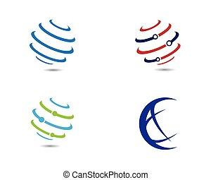 World Logo Template