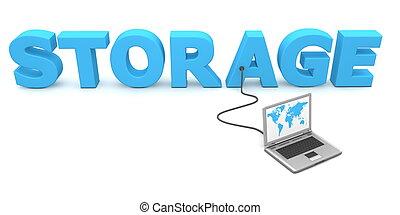 Wired to Storage