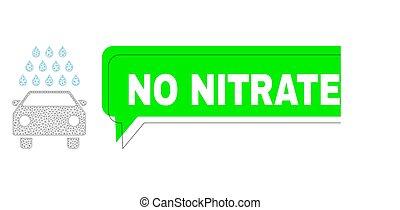 wireframe, coche, texto, lavado, extraviadas, malla, nitrates, no, nube, verde