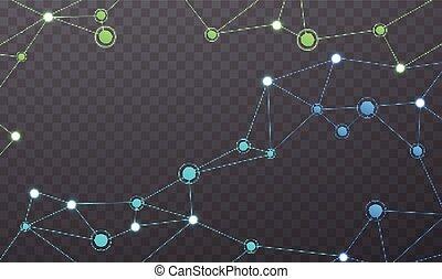 Wireless communication network.