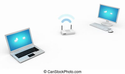 Wireless data transfer  - Wireless data transfer