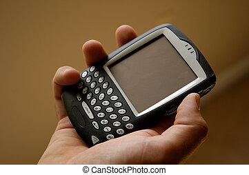 Wireless E-mail - Handheld wireless computer