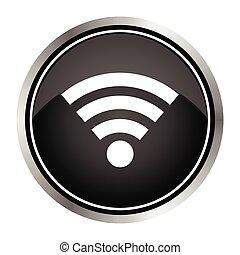 Wireless Icon - Vector icon